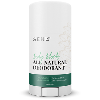 GENM BODY BLOCK ALL-NATURAL DEODORANT