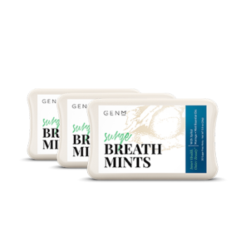 GENM SURGE BREATH MINTS (30 CT. 3-PACK)